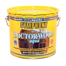 Антисептик грунтовочный Symphony Doctor-wood Aqua 2,7 л