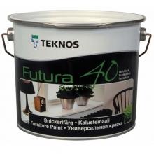 Краска Teknos Futura 40 РМ1 9 л