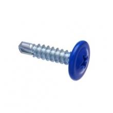 Саморез по металлу до 2 мм 4,2х16 мм RAL5005 синий
