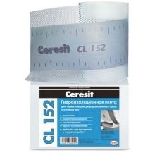 Лента водонепроницаемая Ceresit CL 152 для герметизации швов 10000х120 мм