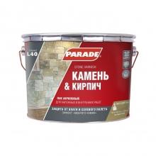 Лак акриловый Parade Classic L40 Камень & Кирпич глянцевый 10 л