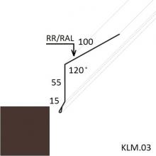 Карнизная планка Полиэстер (Zn 275)