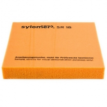 Виброизолирующий эластомер Sylomer SR 18 оранжевый 1200х1500х12,5 мм