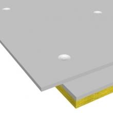 Сэндвич-панель звукоизоляционная ЗИПС-Z4 1200х600х42,5 мм с комплектом крепежа