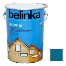 Пропитка для древесины Belinka Exterier № 72 Санториново-синий 10 л