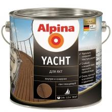 Лак яхтный алкидный Alpina Yacht глянцевый 2,5 л