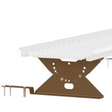 Опоры дополнительные для мостика на композитную черепицу L=2,97 м (4 шт.) ORIMA