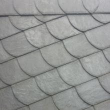Плитка правая Rathscheck для чешуйчатой кладки темно-серый