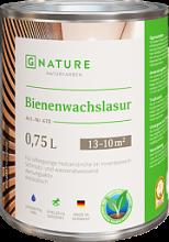 Лазурь с пчелиным воском, белая 471 Bienenwachslasur