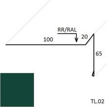 Ветровая планка (для мягкой кровли) (Zn 140)