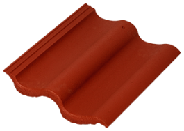 Baltic Tile Sea Wave красный