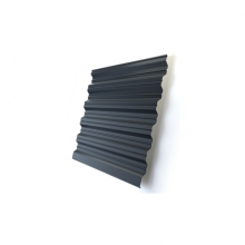 Профнастил Optima HC35 Zn-цинк 0,5 мм б/цвета