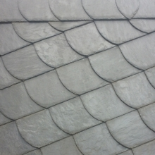 Плитка левая Rathscheck для чешуйчатой кладки темно-серый