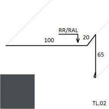 Ветровая планка (для мягкой кровли) PEMA (Zn 275)