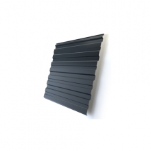 Профнастил Optima C10 Zn-цинк 0,5 мм б/цвета
