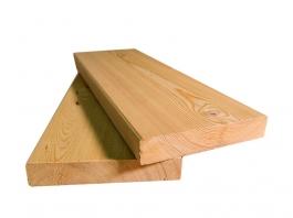 Палубная доска из лиственницы 34x140